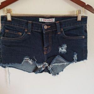 J Brand ripped shorts
